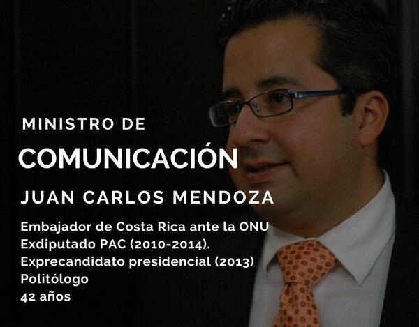 Juan Carlos Mendoza.