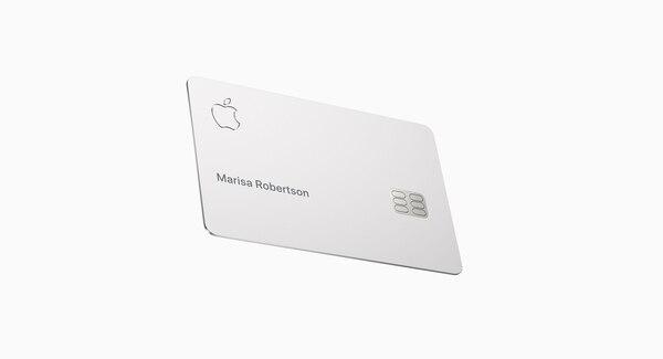 Así de simple es la nueva Apple Card.