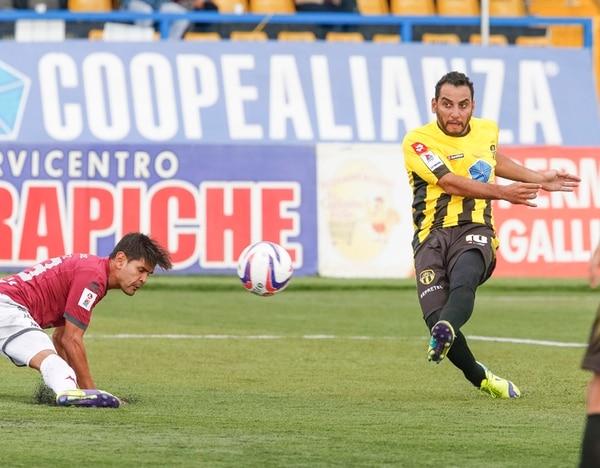 Alejandro Alpízar ha intervenido en 14 de los 18 goles del Uruguay, con 8 tantos y 6 asistencias. | JORGE ARCE