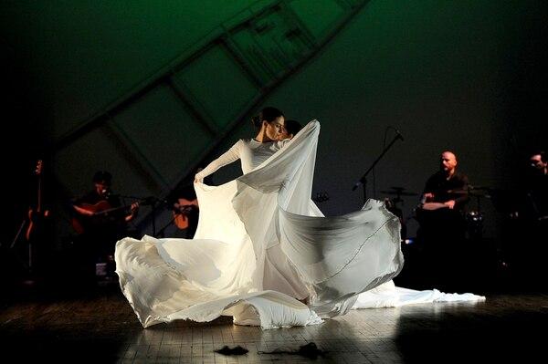 'Tiempologías' de Milena Picado fue una de las coproducciones del Teatro de la Danza. Foto: Archivo/ Melissa Fernández Silva.