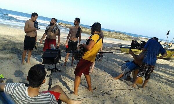 Gran parte del rodaje de 'El cielo rojo 2', se realizó en playa Nosara, Guanacaste. Fotografía: Archivo.