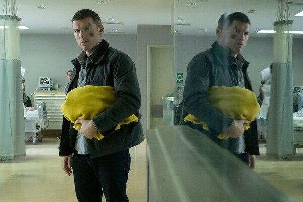 El actor Sam Worthington protagoniza la película 'Fractured'. Fotografía: Netflix para La Nación