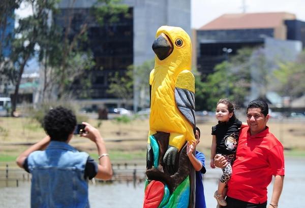 Ocho aves escultóricas 'tomaron' La Sabana