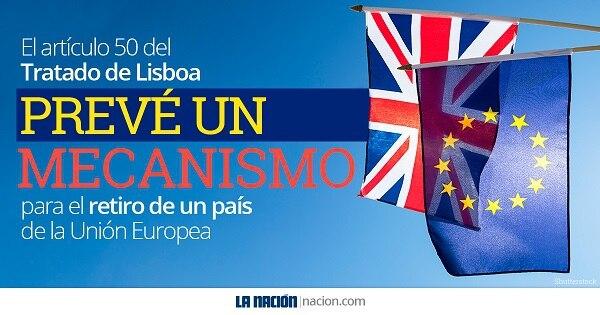 El artículo 50 del Tratado de Lisboa abre el portillo para el éxodo del Reino Unido.