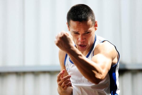 David Medallita Jiménez confía en poder ganar para Costa Rica la presea de oro en la categoría de los 52 kilogramos. | ARCHIVO