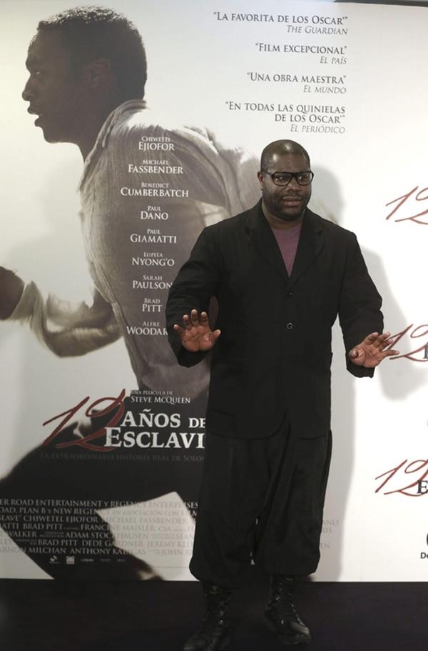 La película de Steve McQueen recibió cuatro nominaciones.   EFE.