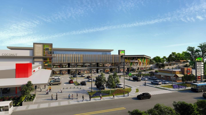 Plaza Comercial El Encuentro San Carlos se verá así, según las maquetas del proyecto. En este mes de abril se iniciará su construcción, al costado sur del Hospital, en Ciudad Quesada. Imagen: Cortesía