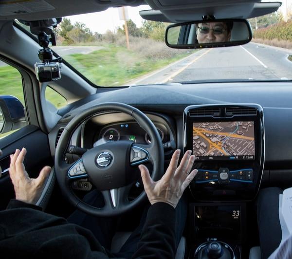 Un prototipo de un Nissan autónomo se puso a prueba en enero pasado, en California, Estados Unidos.