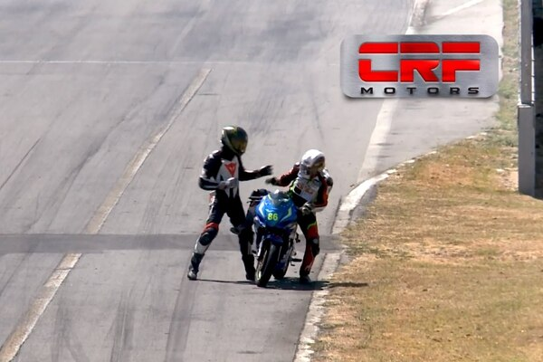 La pelea sucedió el pasado 17 de febrero en el Circuito Sur del Parque Viva. Foto: Captura de pantalla.