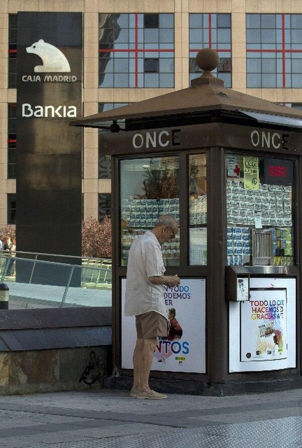 Los problemas de Bankia ocasionaron una estampida de capitales de España y el nerviosismo en la UE. | AP
