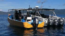 Lancha pesquera deportiva transportaba 348 kilos de cocaína en el Pacífico