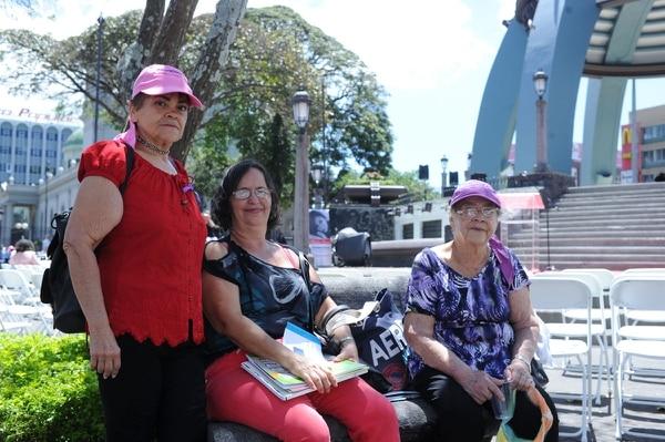 La Red Costarricense de Mujeres Municipalistas (Recomm) también se hizo presente.