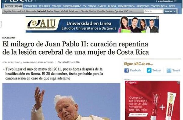 Canonización Juan Pablo II