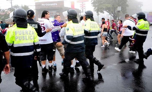 La Fuerza Pública vigilará el ingreso de las barras al estadio. | ARCHIVO