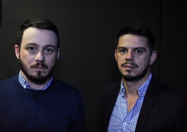 Anthony Venegas (izquierda) Michael Rodríguez (derecha) denunciaron ante el Vaticano al excura Mauricio Víquez. Fotografía: Jorge Navarro