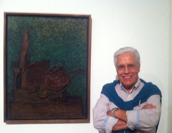 Retrato del escenógrafo David Vargas. Imagen tomada de su perfil de Facebook.