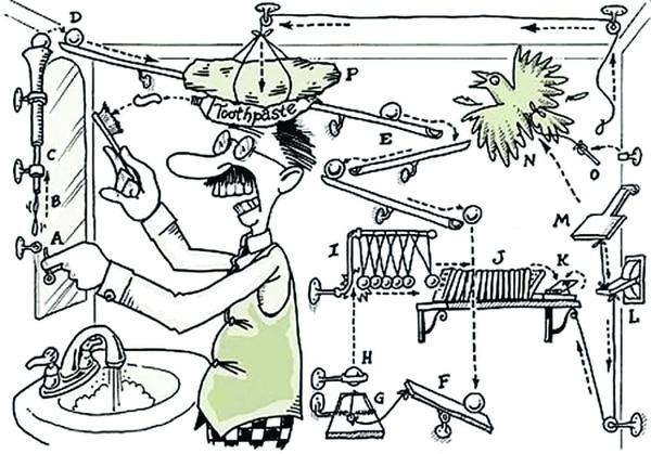 máquina de Rube Goldberg