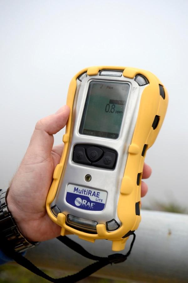 31/08/2018 Parque Nacional Volcán Poas. El sensor de gases es parte de las novedades de seguridad. Fotos de Diana Méndez