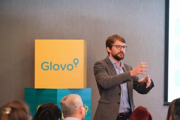 """Para 2020 """"queremos doblar el número de pedidos y el volumen"""" en estos países, afirma Alex Villlacé, gerente general de Glovo para el Istmo. Fotografía: Cortesía de Glovo"""