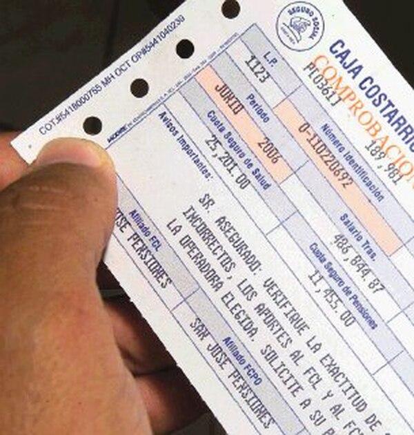La orden patronal en papel no existe desde el 1.° de enero del 2017. Los reportes de órdenes patronales ahora también serán digitales. Foto: Abelardo Fonseca