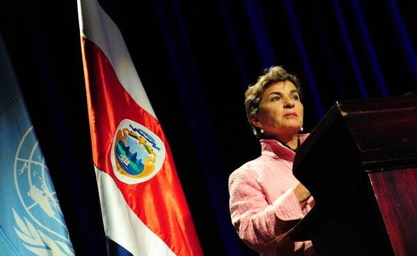 La costarricense Christiana Figueres cuenta con una amplia experiencia en la lucha contra el cambio climático. Fotografía: Graciela Solís.