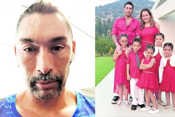Marcelo 'Chino' Ríos, hoy de 45 años, tiene una numerosa familia. Está radicado en Estados Unidos pero la prensa chilena pasa siempre atenta a su vida. Ha recibido muchas críticas en los últimos tiempos por el exceso de cirugías estéticas en el rostro. Fotos Twitter