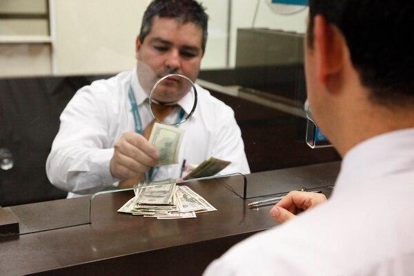 Los bancos reportaron normalidad con las transacciones en dólares.