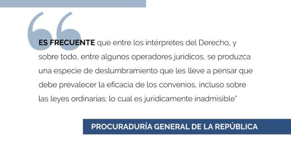 Criterio de la PGR.