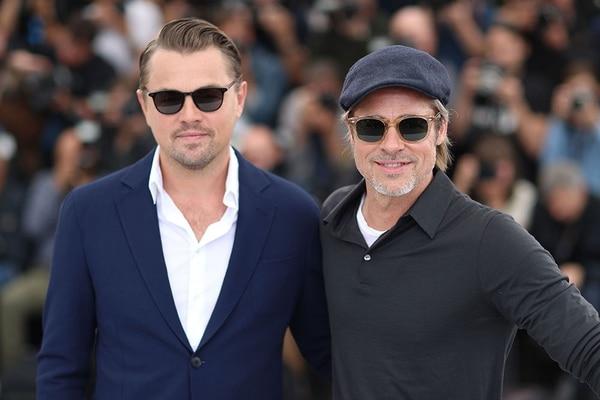 Durante la promoción de la película 'Once Upon A Time In Hollywood' en el Festival de Cannes, los fanáticos notaron a Brad Pitt