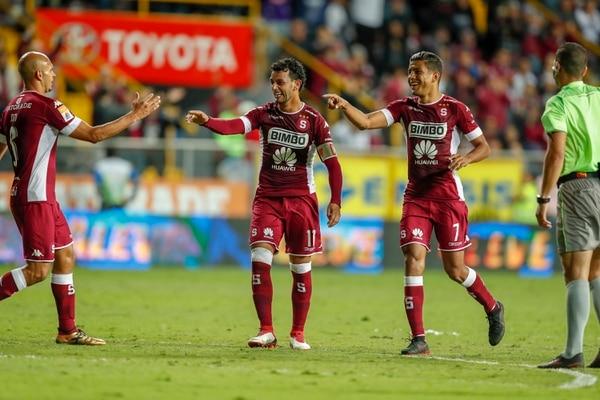 Michael Brrantes (11) marcó ante Guadalupe su tercer gol en el Torneo de Clausura. Fotografía José Cordero