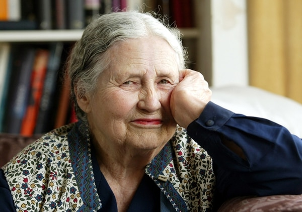 Reconocida.Doris Lessing es considerada una de las autoras más influyentes del siglo XX en lengua inglesa. AP.