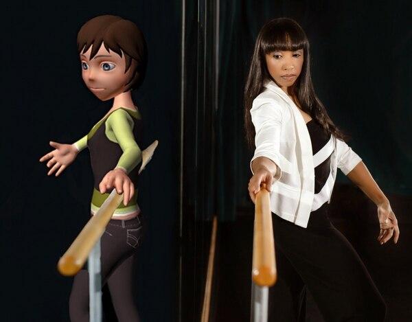 Las niñas evaluadas en el estudio, se movieron para hacer coreografías y programaron secuencias para que los personajes 3D se movieran.