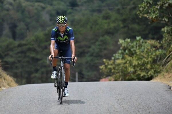 Andrey Amador se entrenó ayer en Cartago. Sus próximos retos son Romandía y el Giro. | JOSÉ CORDERO
