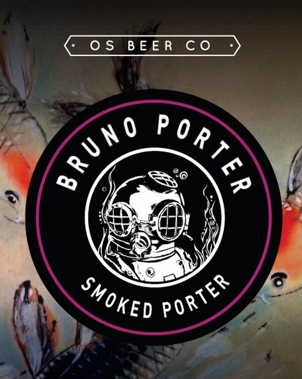 La cerveza Bruno Porter se inspiró en el grupo nacional del mismo nombre.