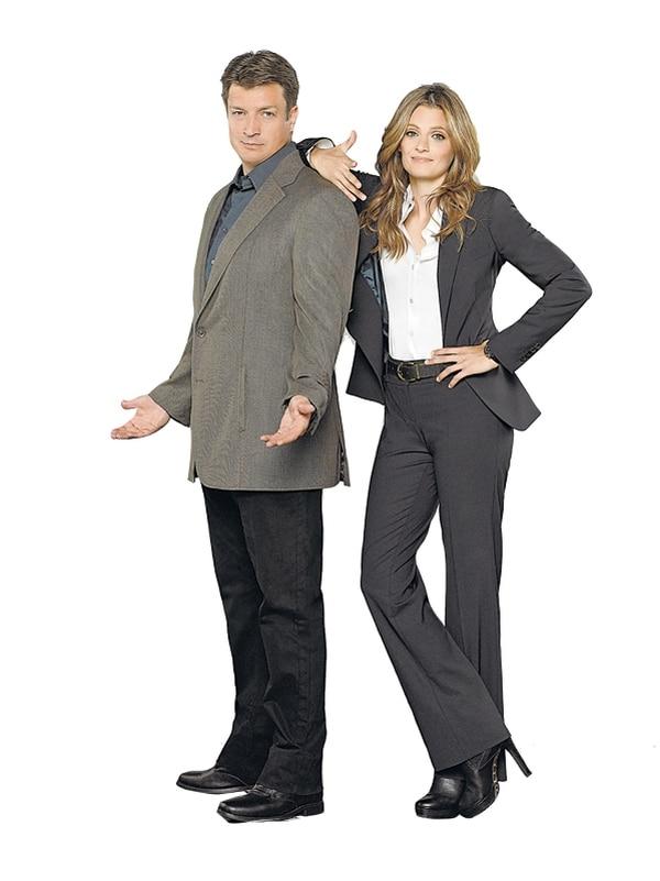 Richard Castle (Nathan Fillion) y Kate Beckett (Stana Katic) vuelven a resolver misterios en la serie Castle. | AXN PARA LN.