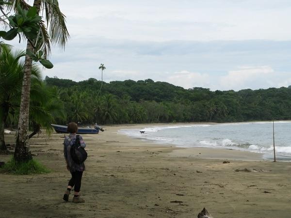 La semana anterior, la afluencia de turistas en playa Manzanillo, Talamanca, era mínima. Los empresarios hoteleros afirman que los turistas no deben temer visitar esa zona porque incrementaron las medidas de seguridad, incluida la colocación de cámaras en sitios estratégicos. | DIEGO BOSQUE