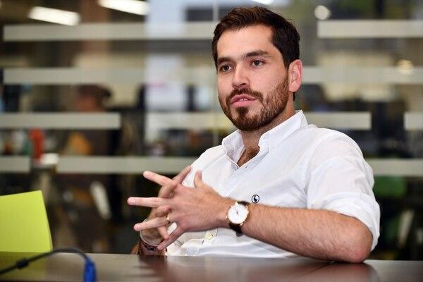 Mateo Albarracín, director de expansión de Rappi, detalló que el acompañamiento para los restaurantes es clave para que puedan sacar provecho a los datos. Fotografía: Jorge Castillo.