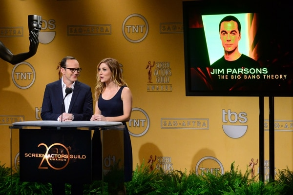 Clark Gregg y Sasha Alexander presentaron las nominaciones de los Screen Actors Guild