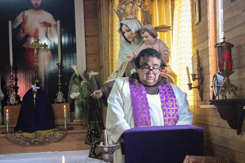 Monseñor José Salazar Mora, obispo de la diócesis de Tilarán-Liberia, quien el pasado 8 de junio nombró exorcista al padre Javier Francisco Dengo Esquivel