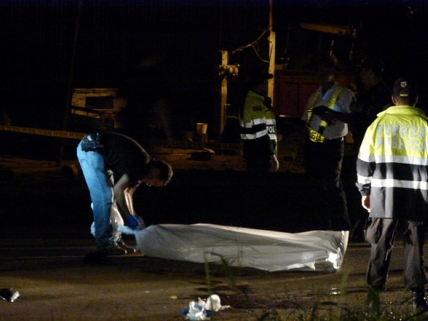 El cuerpo fue levantado por el OIJ la madrugada de este lunes y remitido a la medicatura forense.