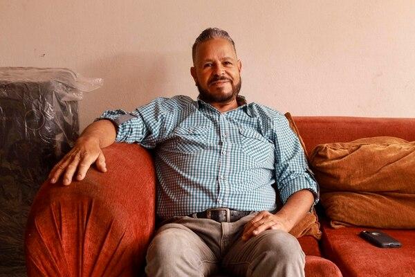 José Manuel Granados se infectó con covid-19 en Estados Unidos en marzo pasado, estuvo tres semanas en cuidados intensivos del Hospital Calderón Guardia, hoy dice sentirse muy bien. Fotografía: Alonso Tenorio