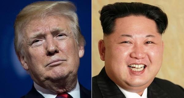 Donald Trump canceló una reunión con el líder norcoreano, Kim Jong Un. Foto: AFP