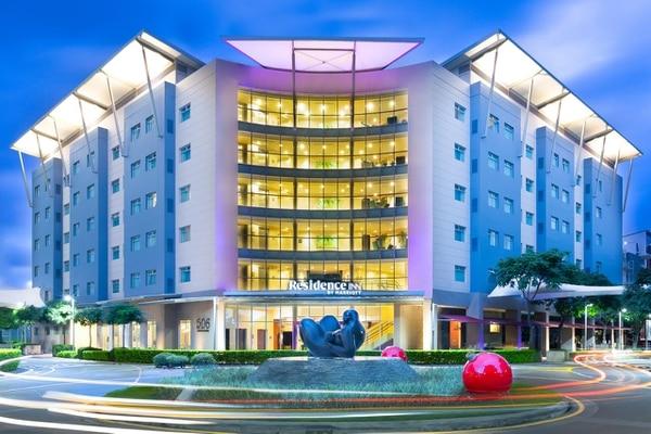El hotel Residence Inn está ubicando en Avenida Escazú. Archivo