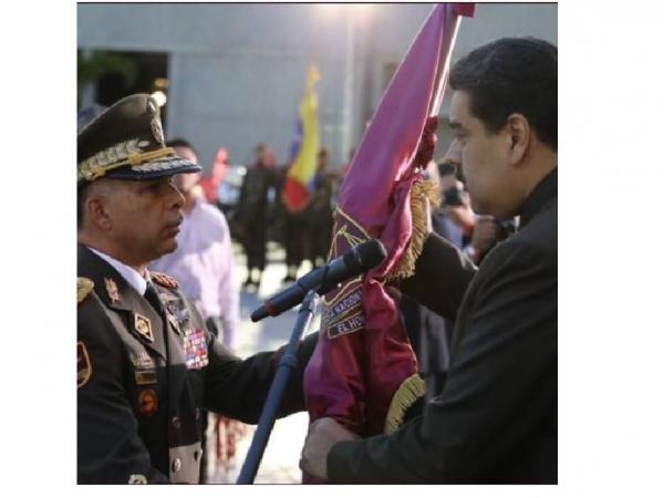 Richard Jesús López Vargas, Comandante general de la Guardia Nacional.