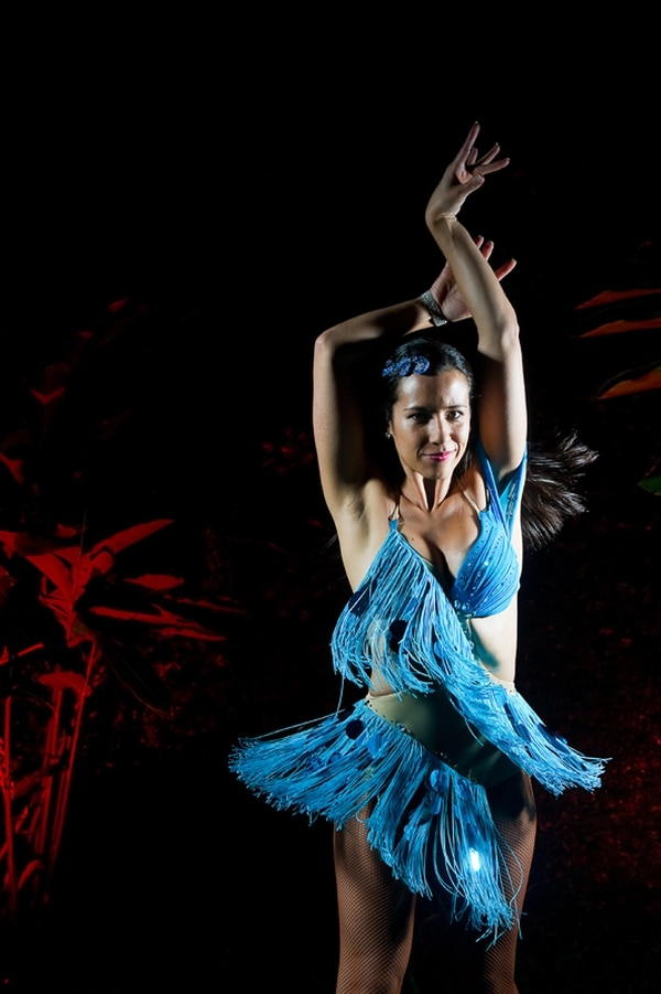 Macarena Aragón, de 28 años, luchó por su más grande sueño: dominar la salsa. Foto: Rafael Murillo