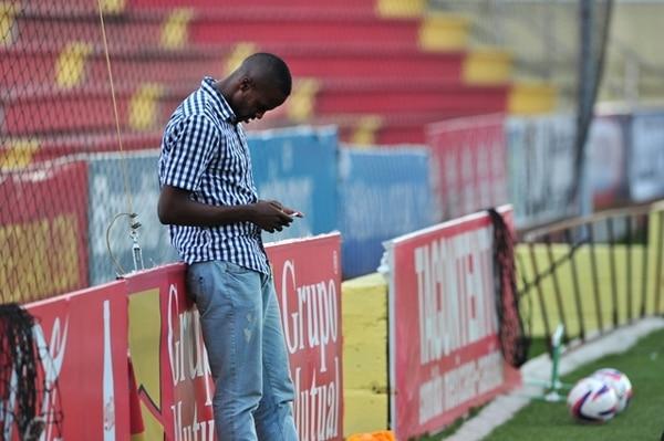 Derrick Johnson no practicó ayer con el equipo florense. | DIANA MÉNDEZ
