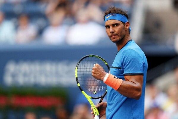 Rafael Nadal eliminó sin apuros al uzbeco Denis Istomin. | AFP