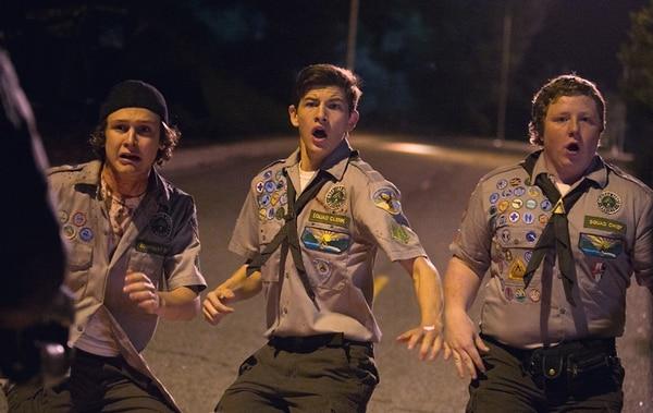 Carter (Logan Miller), Ben (Tye Sheridan) y Augie (Joey Morgan), son los protagonistas del filme. Ellos estarán cara a cara con los zombis.Romaly/LN
