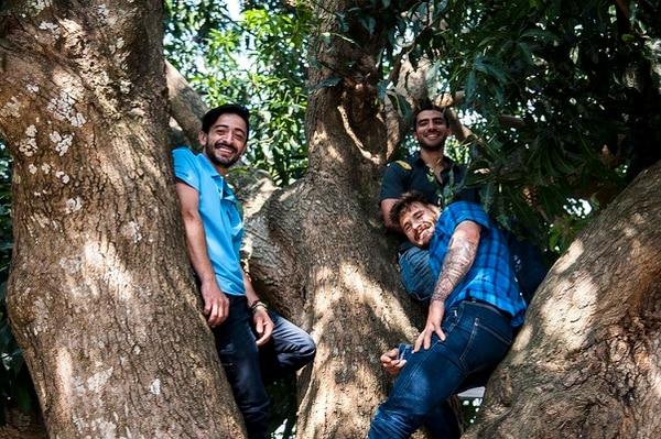 Julio Arce, Aziz Ftis y el español Edu Marín son los anfitriiones del Festival de Escalada de Providencia en Dota.