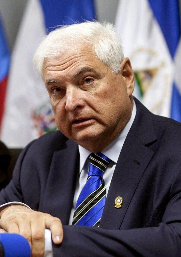 Martinelli gobernó entre los años 2009 y 2014. | AFP